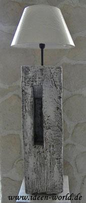 Unikat Stehlampe Holz