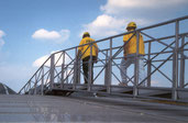 Brückenbefahranlagen - gerade
