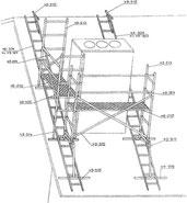 Roof Scaffolding plan