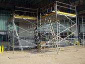 Maintenance scaffolding Type 43
