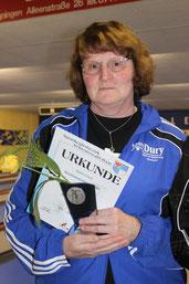 Karin Cosic die Meisterin bei den Seniorinnen B