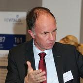 Klaus Barkey bei der 1. REVITALIS Fachtagung zum BGM