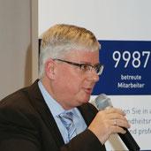 Alois Schultza bei der 1. REVITALIS Fachtagung zum BGM