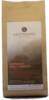Espresso Peru Yanesha