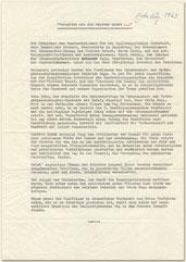 Geschäftsjubiläum Veröffentlichung der Handwerkskammer 1963
