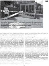 Artikel im Kulturmagazin «041»