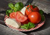 Gemüseteller Rauchen aufhören Hypnose