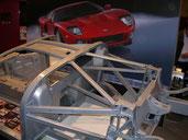 Rührreibgeschweißter Mitteltunnel im Alu-Spaceframe des Ford GT