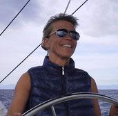 White Wake sailing