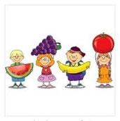voeding : fruit kleuterpagina