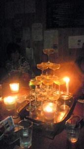シャンパン・タワー