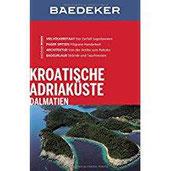 Baedeker Reiseführer Kroatische Adriaküste, Dalmatien mit GROSSER REISEKARTE