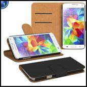 PREMIUM - Book-Style Case für - Samsung Galaxy A5 (2016 Edition)