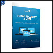 F-Secure Total Security und VPN - 1 Jahr / 5 Geräte
