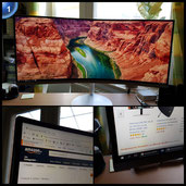 Samsung LC34F791WQUXEN 86,4 cm (34 Zoll) Monitor (LCD/TFT/Curved)