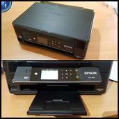 Epson Expression Home XP-442 3-in-1 Tintenstrahl-Multifunktionsgerät (Drucker, Scanner, Kopierer, WiFi, Duplex, Einzelpatronen) schwarz