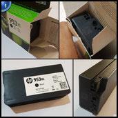 HP 953XL Schwarz Original Druckerpatrone mit hoher Reichweite für HP Officejet Pro