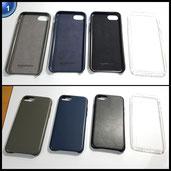 AmazonBasics Hülle/Case für iPhone 7 transparent / durchsichtig