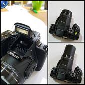 Nikon Coolpix B700 Kamera schwarz