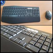 Logitech MK850 Performance Kabellose Tastatur und Maus Combo (USB, Bluetooth) QWERTZ