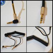 HAVIT HV-CB619X 3.5mm Feder Audiokabel Flexibler für iPhone, ipod, iPad, mp3, mp4, Smartphone,PC, HDTV