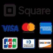スマホ&タブレットを利用した話題のカード決済システム「Square」導入店 visa,Master,AMEXに対応