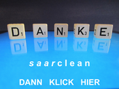 Startseite Danke-Button in Blau