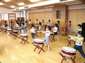 和太鼓練習(2階ホール)