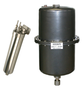 Mechatest sample coolers - Herpi steam cooler - helical coil coolers, Sentry coolers, shell vase cooler closed