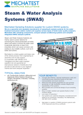 SWAS systems Best Instruments and Mechatest Sampling