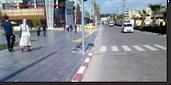 Yayalar, araçlar ve toplu taşıma için modern altyapı çözümleri
