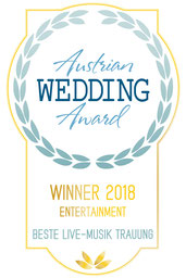 Helga Bauer Sängerin v Gospel4Wedding Austrian Wedding Award Finalistin 2017