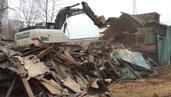 услуги по демонтажу деревянного дома