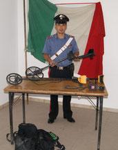 Le attrezzature utilizzate dai Tombaroli