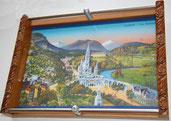 Plateau illustré de la ville de Lourdes