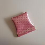 パールピンクの小銭入れは、女性の心をわしづかみ!?