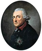 Friedrich der Große bzw. König Friedrich II. von Preußen