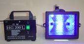 lampada raggi ultravioletti incollaggio uv vetro plexyglass metacrilato plastica resina fotosensibile