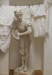 Wäschermädel-Denkmal von Stefan Schwartz in der Schausammlung des Bezirksmuseums Alsergrund (ALSEUM)