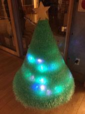 エアセルマットで創ったクリスマスツリー