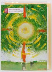 Karte zur Diakonenweihe Lebensbaum