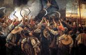 La revuelta del Corpus de Sangre que originó el posterior himno catalán (1889) de Els Segadors.