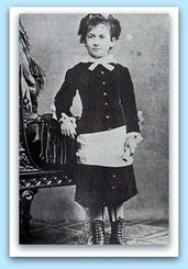 Maria Montessori um 1880 / Quelle: Wikipedia (bearbeitet)