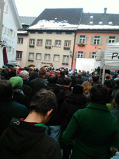 Sonntagsdemo in Bludenz  Bild: Juliane Alton FB