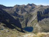 Etang rond, Mont Valier