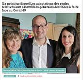 Article de Presse - Covid-19