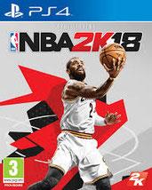 jaquette jeu vidéo NBA 2K18