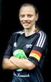 Überragend: Julia Faupel führte Großenenglis zum 2:1.