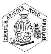 Logo noir et blanc du cercle apicole du Nord Meusien