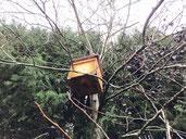 Bienenhotel - Insektenhotel, Bienen Nistkasten, Bienebaumhaus
